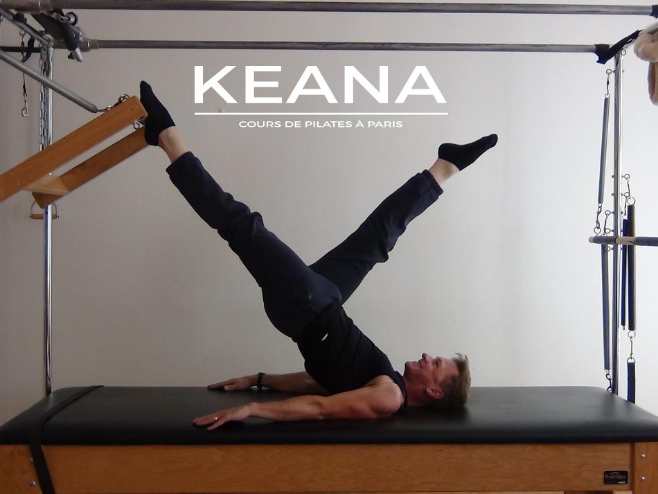 Chuck Gemme professeur de pilates à Paris au studio keana
