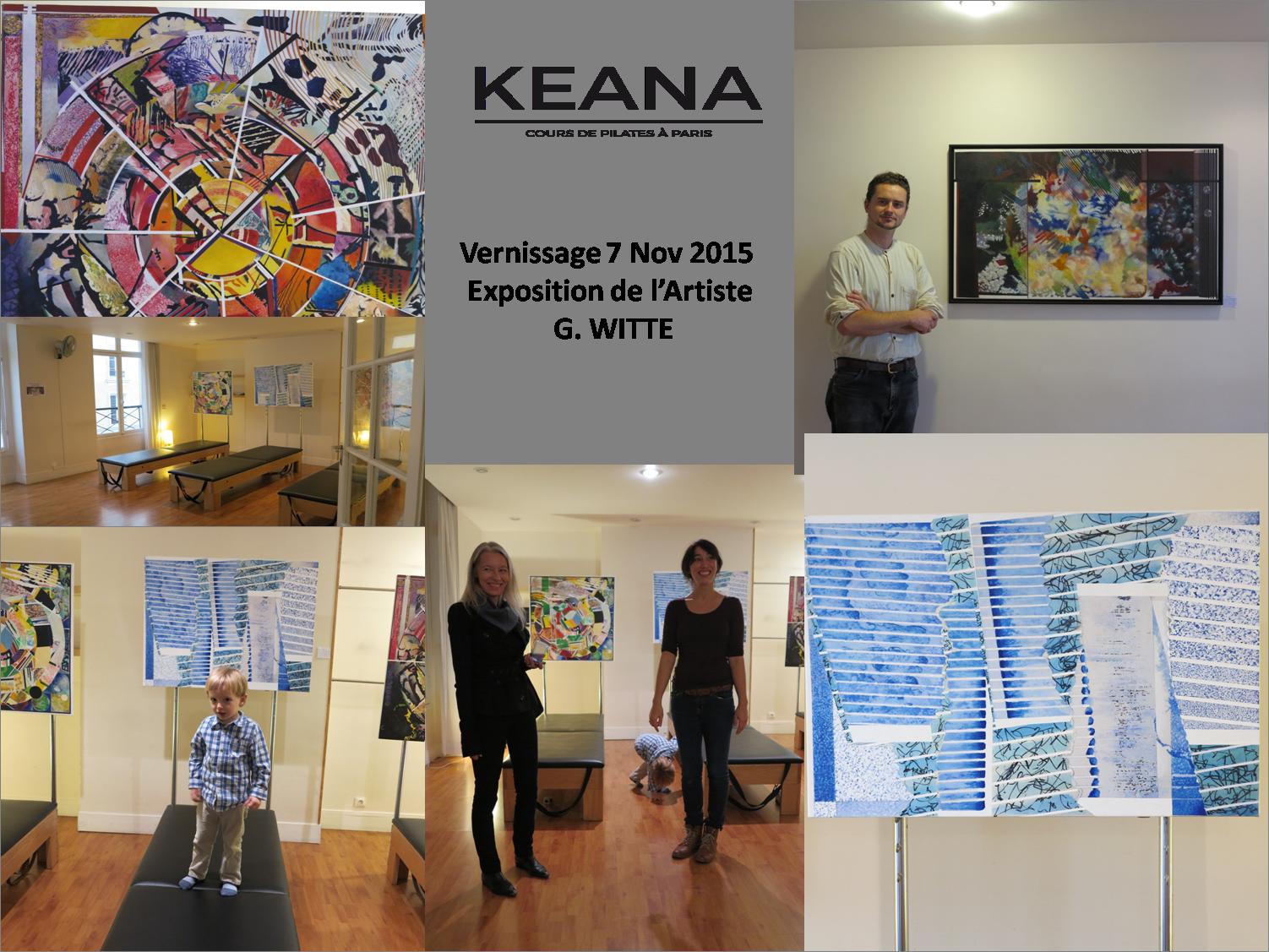 Le studio Keana fier de recevoir l'artiste G.WITTE