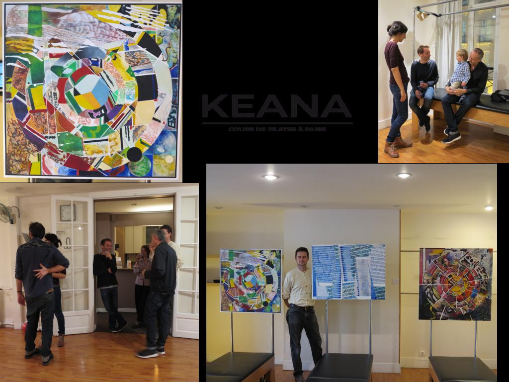 Vernissage et exposition au studio Keana le 7 novembre 2015